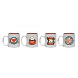 Set De Mini Tazas Bt21