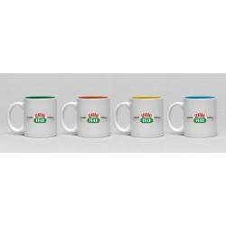Set De Mini Tazas Friends Central Perk