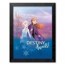 Print Enmarcado 30X40 Cm Disney Frozen Ii Destiny Waits