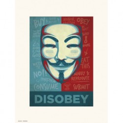 Print 30X40 Cm Disobey