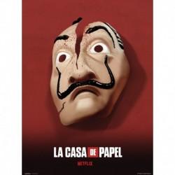 Print 30X40 Cm La Casa De Papel Mascara