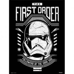 Print 30X40 Cm Star Wars Episodio Ix First Order