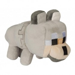 Peluche Minecraft Happy Explorer Untamed Wolf