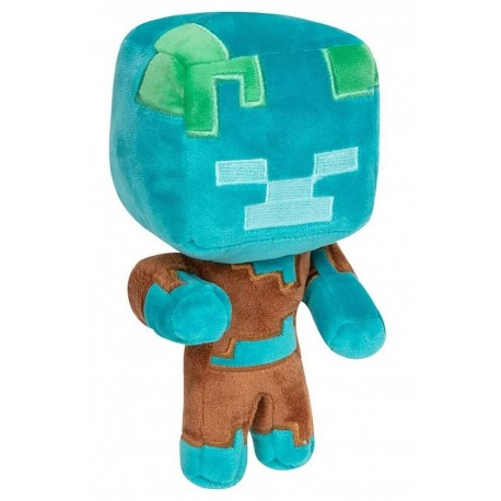 Peluche Minecraft Happy Explorer Drowned