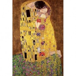 Póster Grande XXL Gustav Klimt The Kiss