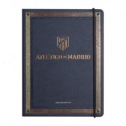 Cuaderno Tapa Forrada Premium Pu Atletico De Madrid