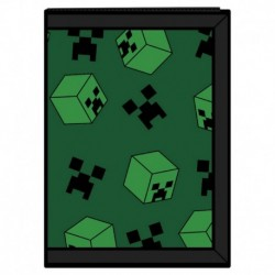 Cartera Tri-Fold Minecraft Creeper Sweeper
