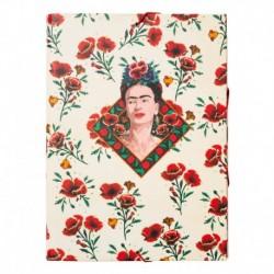 Carpeta Solapas Frida Kahlo Flores