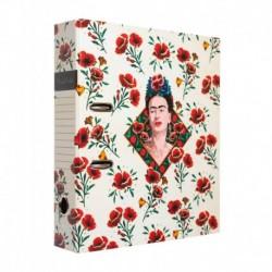 Archivador Con Compresor Frida Kahlo Flores