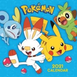 Calendario 2021 30X30 Pokemon