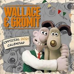 Calendario 2021 30X30 Wallace & Gromit