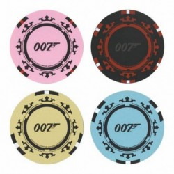Posavasos James Bond Casino Royale Ficha De Poker