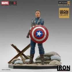 Figura Bds Art Scale 1/10 Marvel Cap. America 1St Avenger