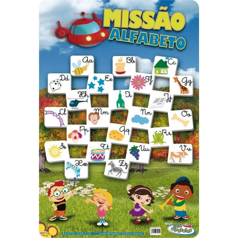 Las l minas educativas alfabeto little einste de mejor - Laminas y posters madrid ...