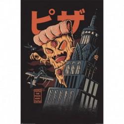 Poster Ilustrata Pizza Kong