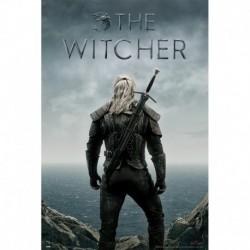 Póster Grande XXL The Witcher Backwards