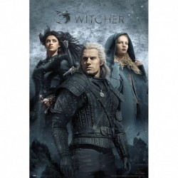 Póster Grande XXL The Witcher Chracters
