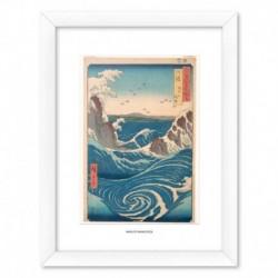 Print Enmarcado 30X40 Cm Naruto Whirlpool