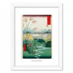 Print Enmarcado 30X40 Cm Otsuki Plain In Kai Province