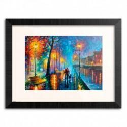 Print Enmarcado 30X40 Cm Romantic Couple Leonid Afrémov