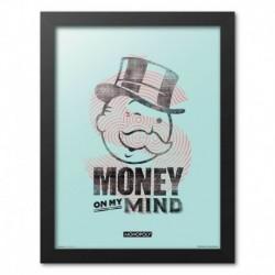 Print Enmarcado 30X40Cm Monopoly Money On My Mind