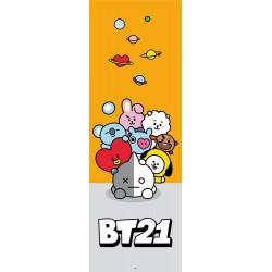 Poster Puerta Bt21 Personajes