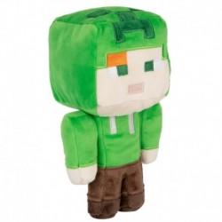 Peluche Minecraft Happy Explorer Alex In Creeper Costume