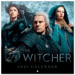 Calendario 2021 30X30 The Witcher