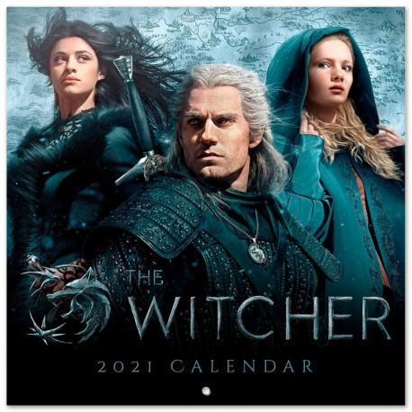 Calendario 2021 30X30 The Witcher