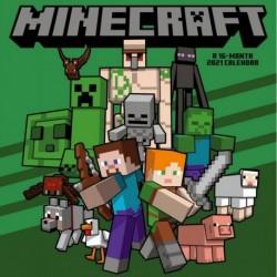 Calendario 2021 30X30 Minecraft