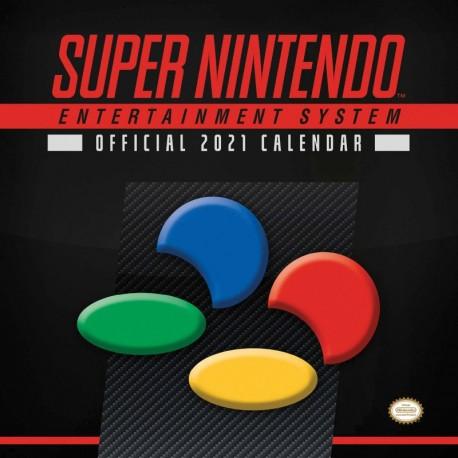 Calendario 2021 30X30 Nintendo Snes