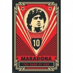 Póster Grande XXL Maradona The Hand Of God