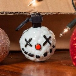 Decoracion Navidad 3D Fortnite Snowball Grenade