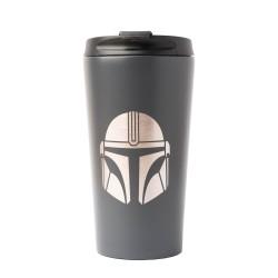 Taza De Viaje metálica Star Wars Mandalorian