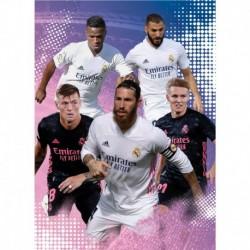Postal Real Madrid 2020/2021 Grupo