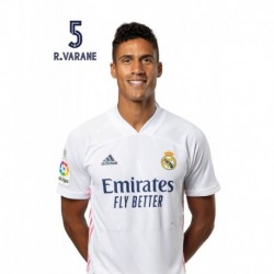 Postal Real Madrid 2020/2021 Varane Busto