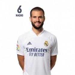 Postal Real Madrid 2020/2021 Nacho Busto