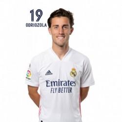 Postal Real Madrid 2020/2021 Odriozola Busto