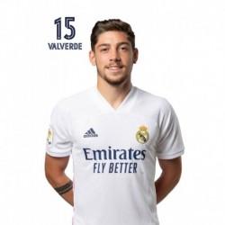 Postal Real Madrid 2020/2021 Valverde Busto