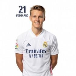 Postal Real Madrid 2020/2021 Odegaard Busto