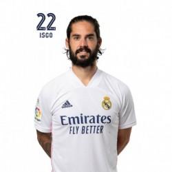Postal Real Madrid 2020/2021 Isco Busto