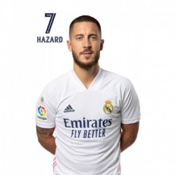Postal Real Madrid 2020/2021 Hazard Busto