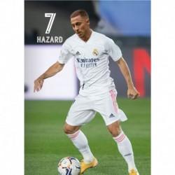 Postal Real Madrid 2020/2021 Hazard Accion