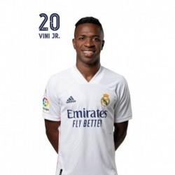 Postal Real Madrid 2020/2021 Vinicius Jr Busto