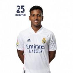 Postal Real Madrid 2020/2021 Rodrygo Busto