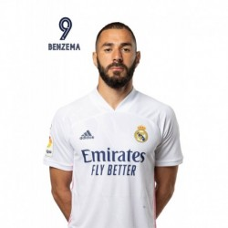 Postal Real Madrid 2020/2021 Benzema Busto