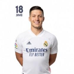 Postal Real Madrid 2020/2021 Jovic Busto