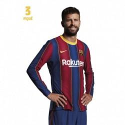Postal Fc Barcelona 2020/2021 Pique Busto