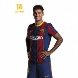 Postal Fc Barcelona 2020/2021 Coutinho Busto