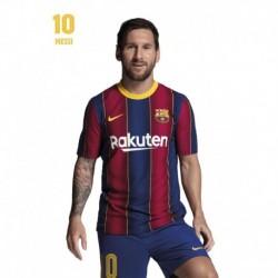 Postal Fc Barcelona 2020/2021 Messi Busto